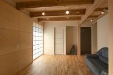 富士宮 新築 リビング 壁掛けテレビ