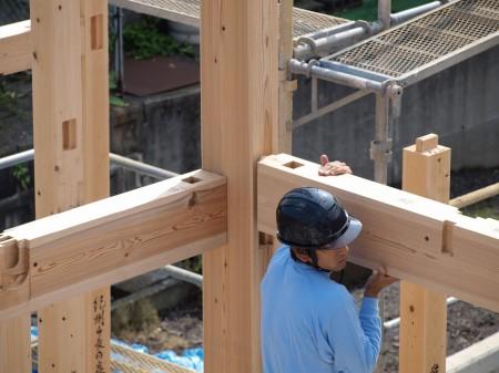 構造材となる隅柱