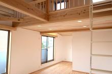 富士市 新築 子供部屋 ロフト