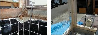浴室工事の際の構造躯体補修・補強