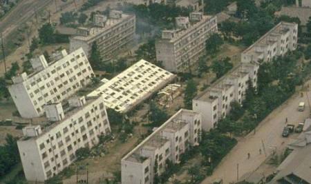 新潟地震被災