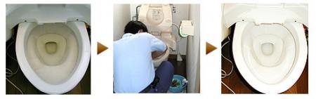 プロのトイレ掃除