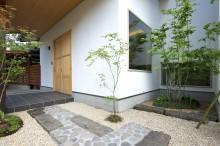 富士宮 新築 玄関 エントランス