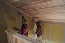 富士宮 新築 珪藻土 塗り壁