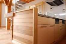 富士市 新築 キッチン ティンバーフレーム