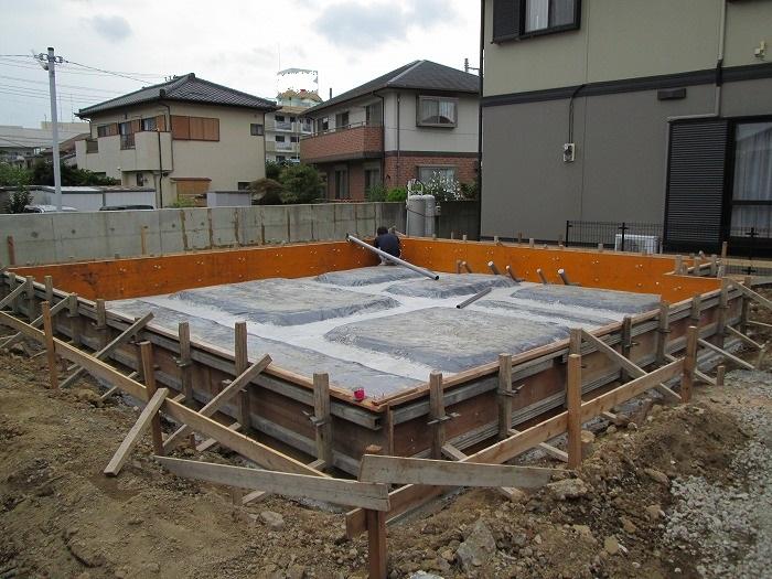 三島市新築工事 基礎工事2