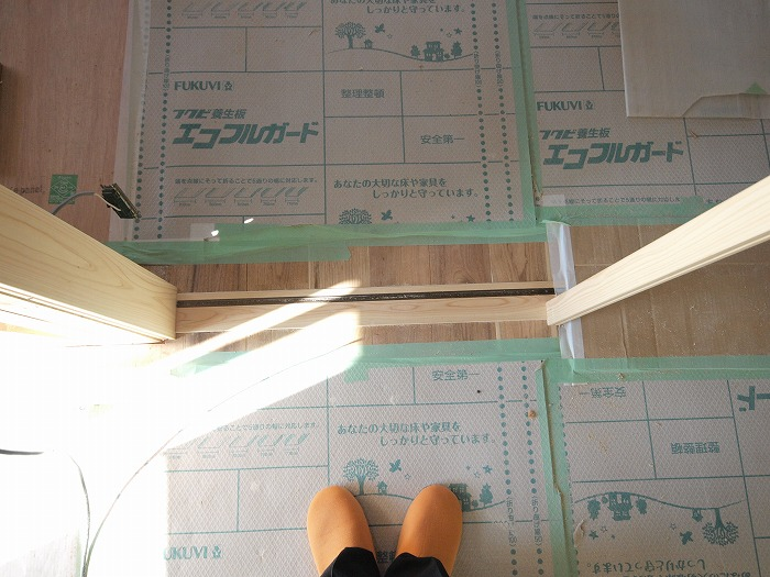 富士宮市のリノベーション現場