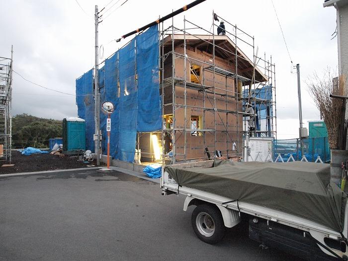 富士市の新築住宅 外周面で耐震