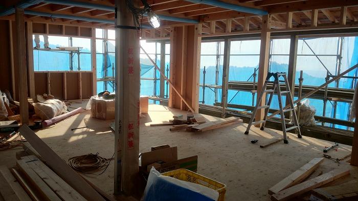 富士市の新築住宅は二階リビングの家