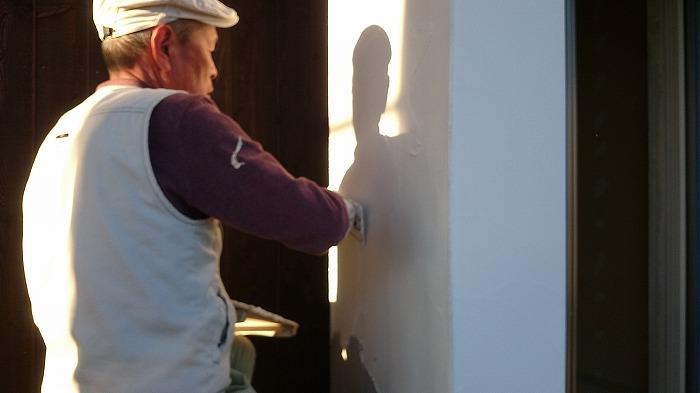 富士宮市 リノベーション 外壁漆喰塗り