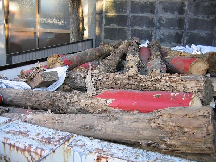 木を腐らせない工夫 注入せずに腐った鳥居