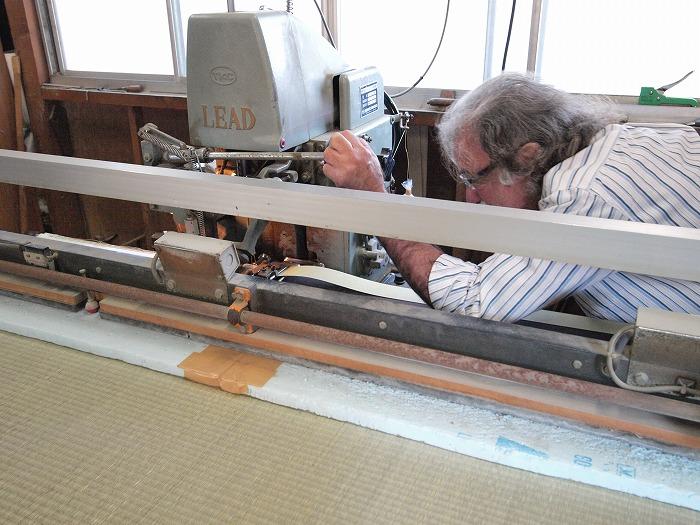 富士宮市 リノベーション 七島藺の畳 職人