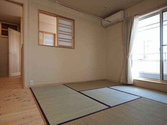 富士宮市 リノベーション 七島藺の畳 四畳半