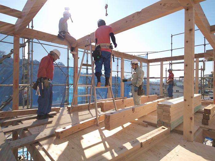 三島市 新築住宅構造見学会