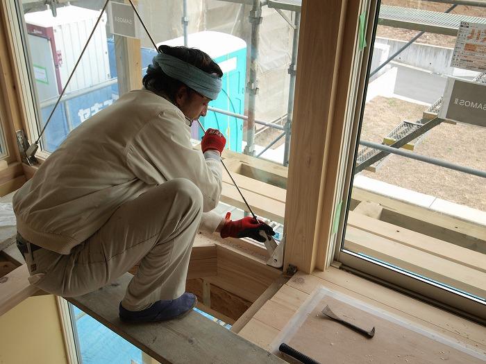 三島市新築住宅 薪ストーブの家 採光出来る耐力壁