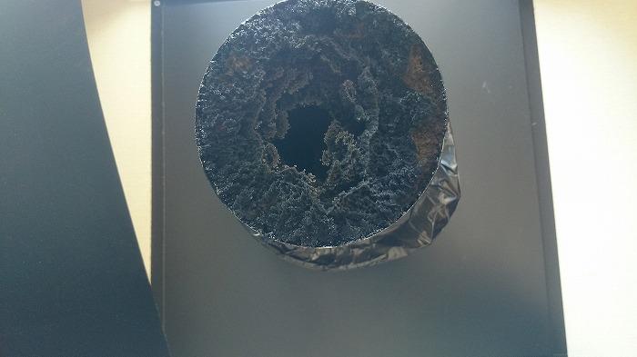 煙道火災の危険