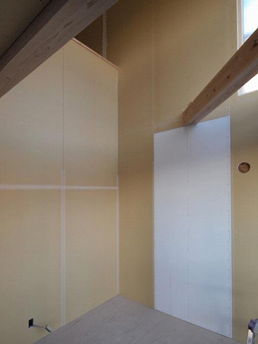 三島市 新築住宅 薪ストーブ設置位置