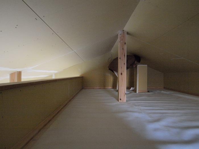 三島市新築住宅 薪ストーブの家の謎の物体