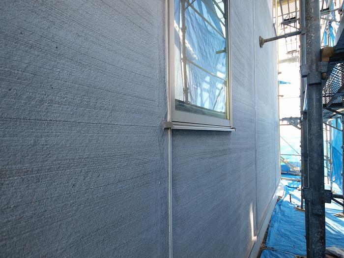 富士市新築住宅 二階リビングの家 外壁下地