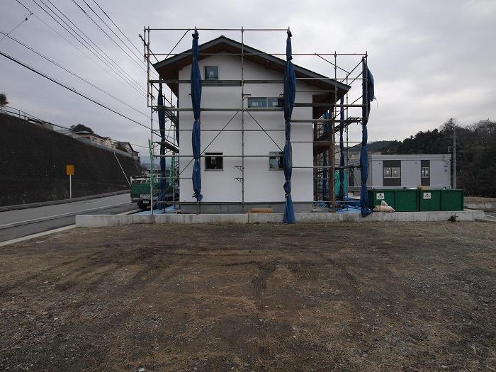 三島市 新築住宅 シックイの外壁