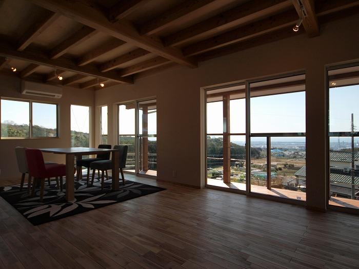 富士市新築住宅 二階リビング