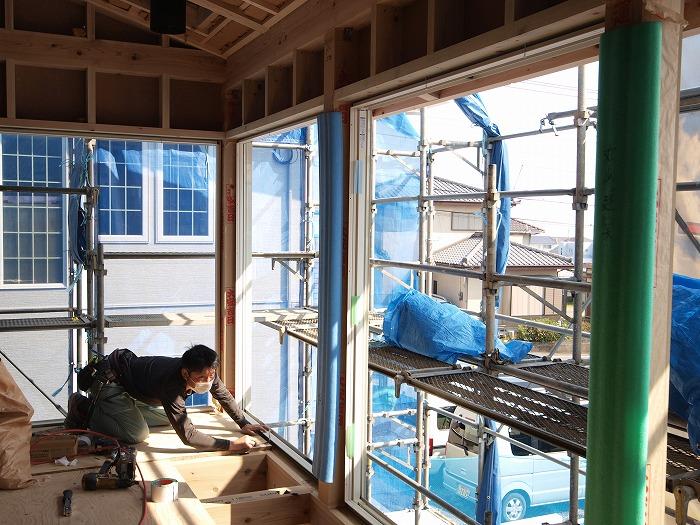 富士宮市新築住宅 薪ストーブの家