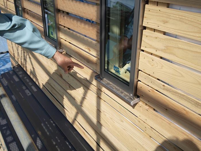 富士宮市 新築住宅 窓の防水