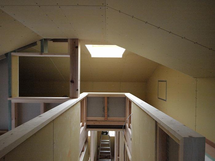 富士宮市 新築住宅 ロフトの天窓