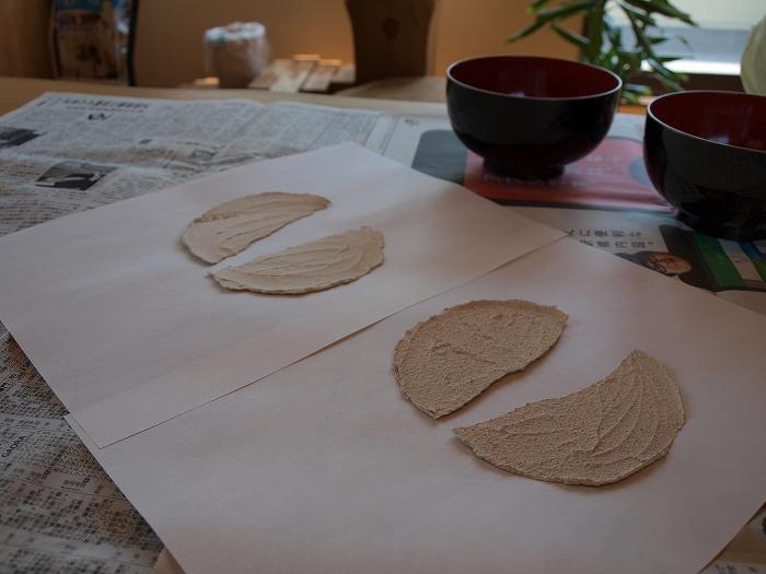 合成樹脂の有無による珪藻土塗り壁材の性能