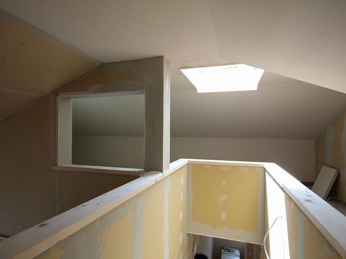富士宮市新築住宅 ロフトの天窓