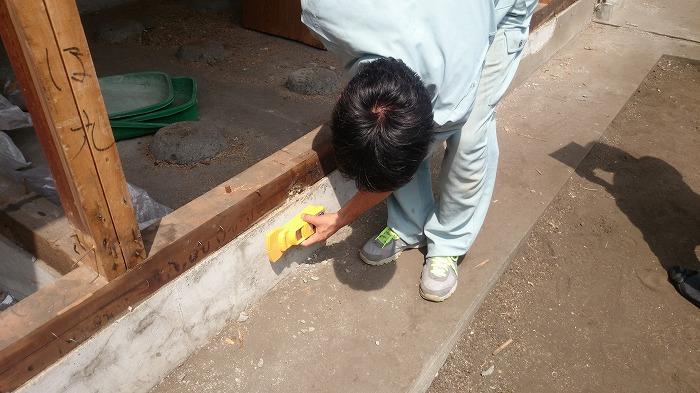 富士市 木造住宅のリノベーションの基礎確認