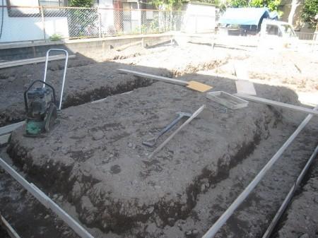掘り方着工