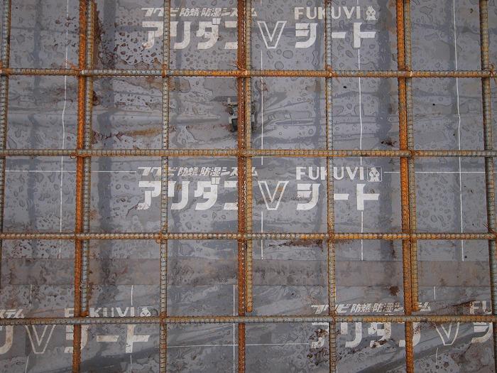 富士市新築住宅 耐震等級3の基礎 白蟻予防