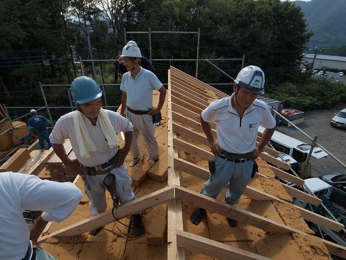 富士宮市新築住宅 構造見学会 木質繊維断熱材