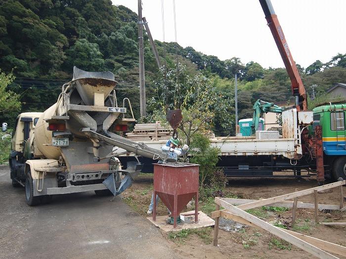 富士市新築住宅 基礎工事