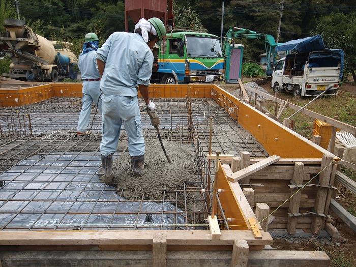 富士市新築住宅 耐震等級3の基礎