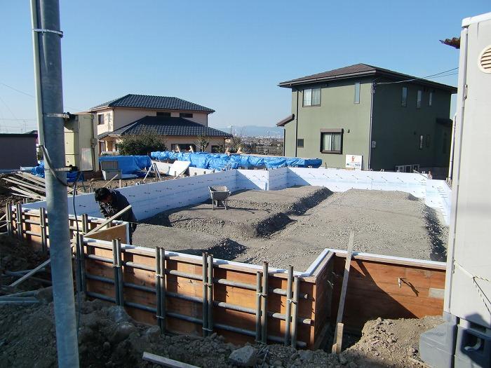 富士市新築住宅 基礎の構造計算