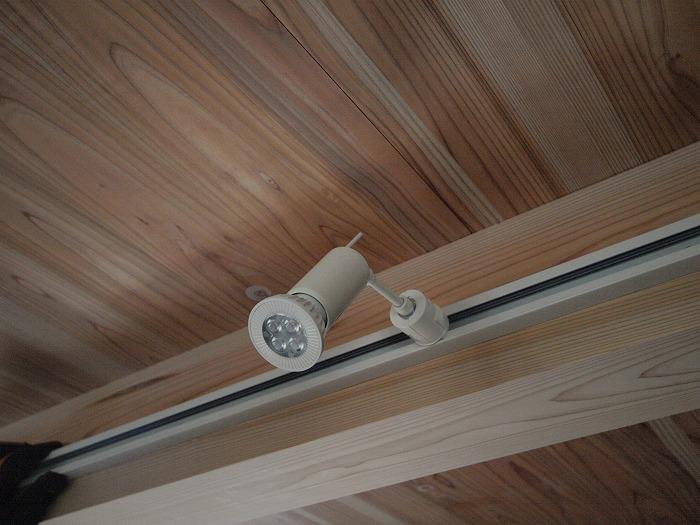 富士宮市新築住宅 LEDの灯具
