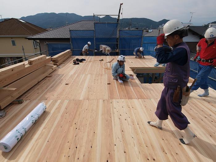 富士市 新築住宅 水平構面