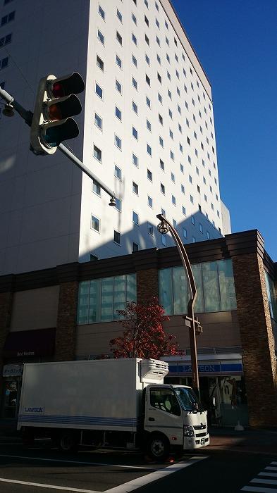 樹脂サッシが使われているホテル
