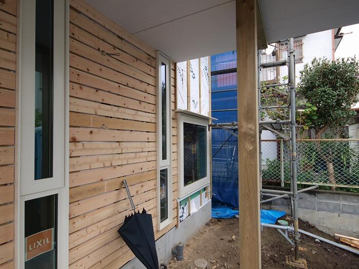 富士市 新築住宅 玄関庇