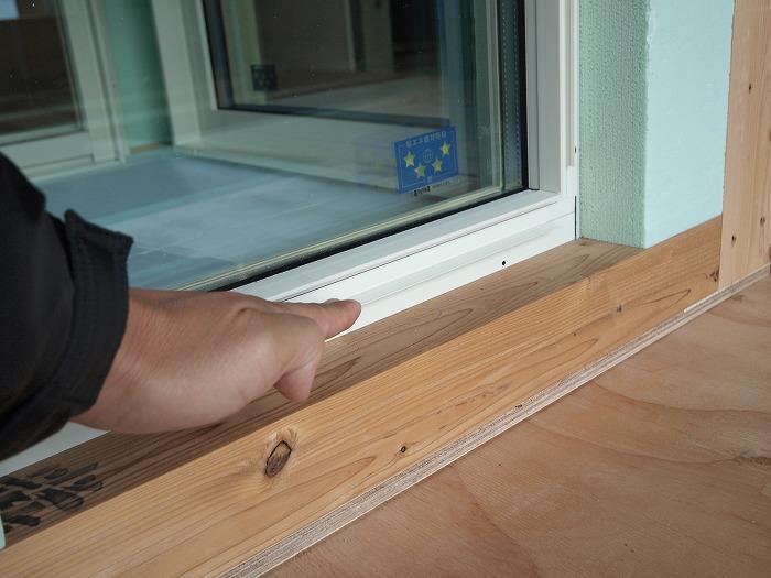 富士市 新築住宅 窓の実験
