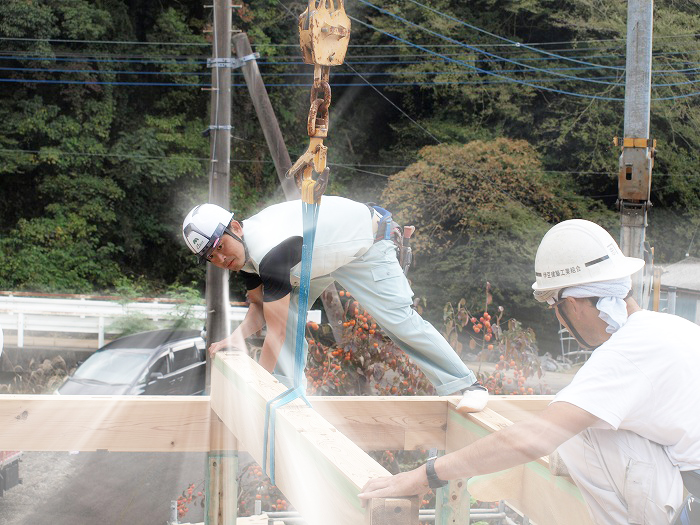 富士市 新築住宅 社員大工の気迫