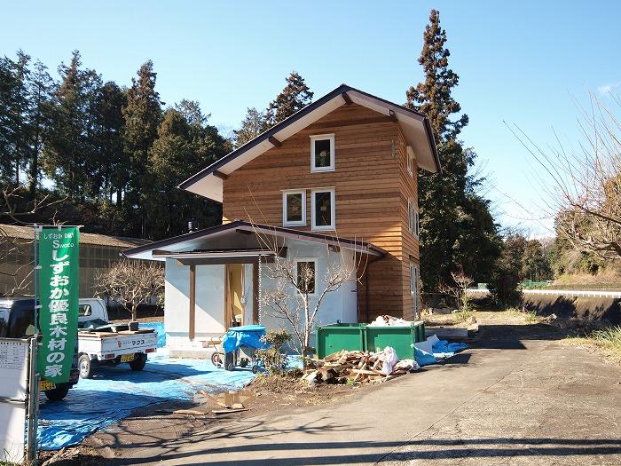 富士市 新築住宅 土間とクッキングストーブの家