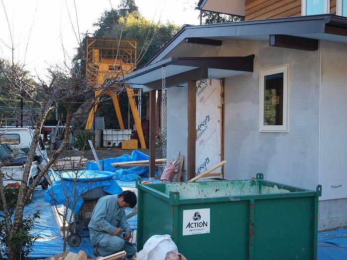 富士市 新築住宅 土間とクッキングストーブのある家