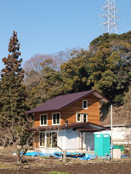 土間とクッキングストーブのある家