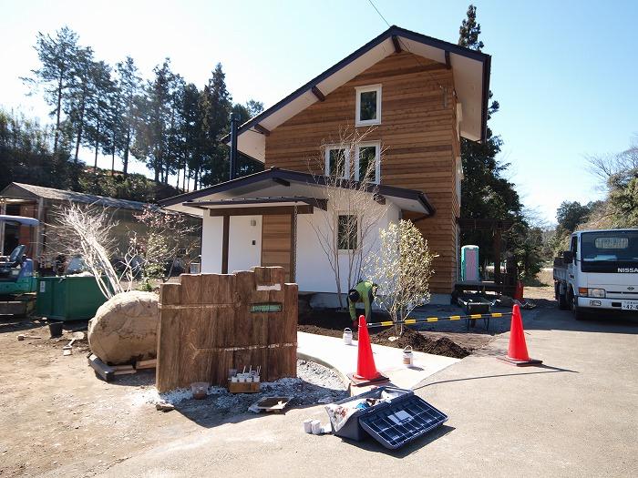 富士市 土間とキッチンストーブの家