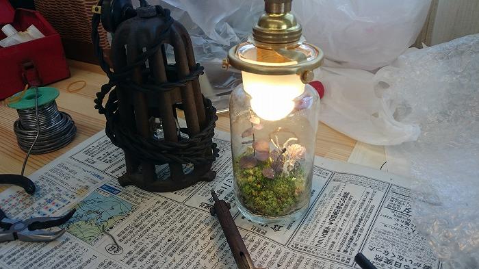 富士市 土間とキッチンストーブの家 照明