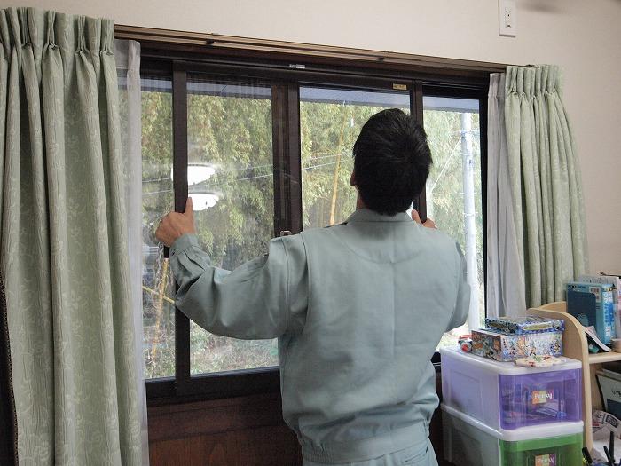 富士市 内窓 インプラスの障子取付