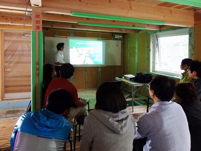 静岡県富士市 マクスの構造見学会